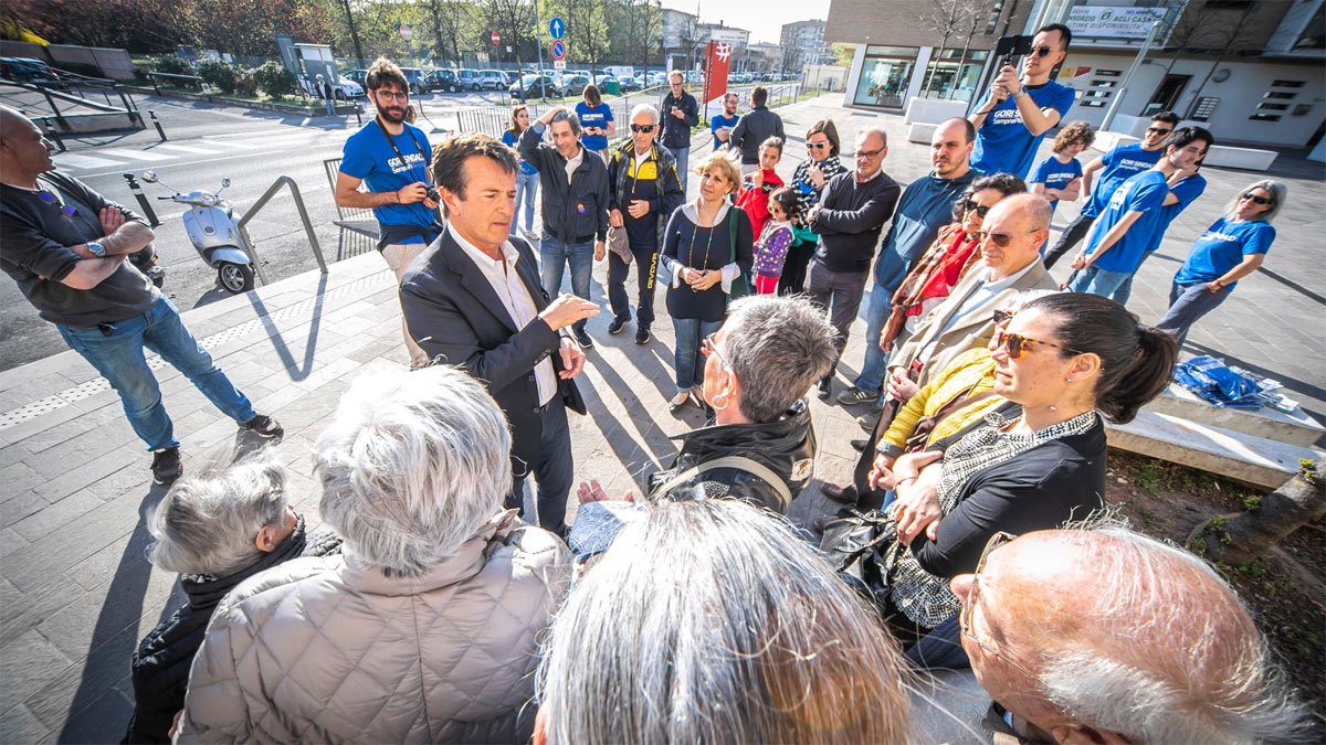Giorgio Gori incontra i cittadini nei quartieri