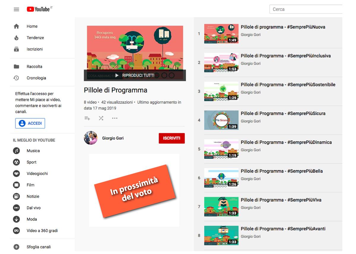 I bellissimi video di animazione sui temi del programma
