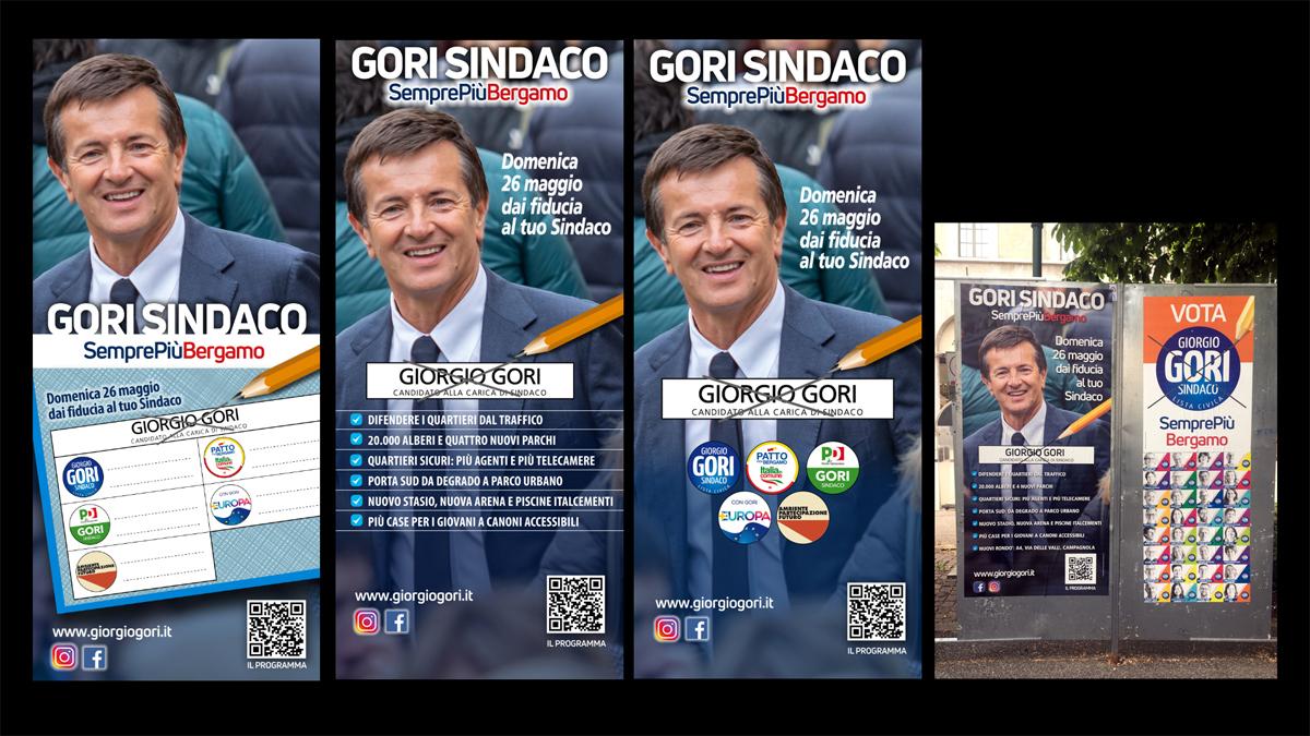 I poste 90x200 per i tabelloni comunali, unica tipologia di affissione ammessa nell'ultimo mese di campagna