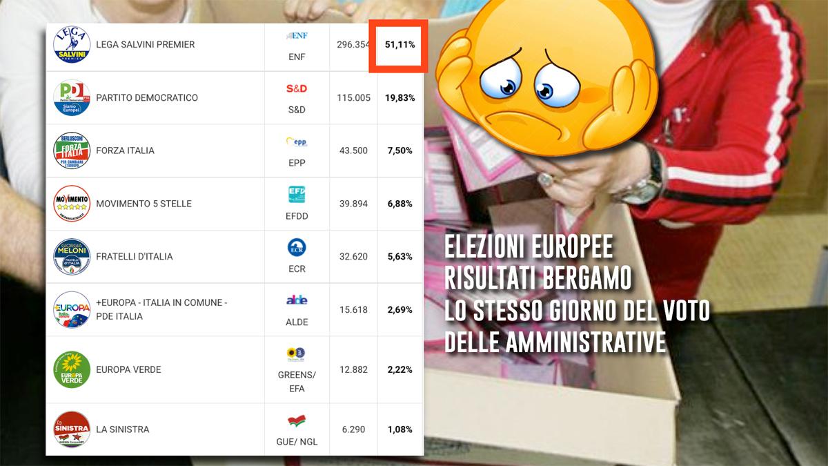 Con la lega al 51% alle elezioni europee passammo ore terribili