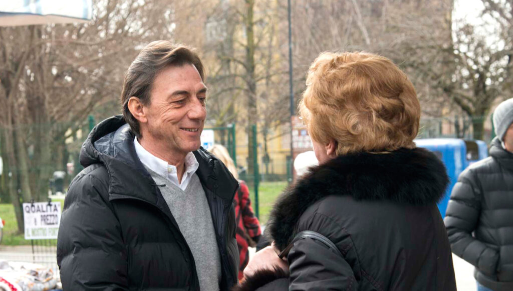 Sergio Giordani, candidato sindaco di Padova