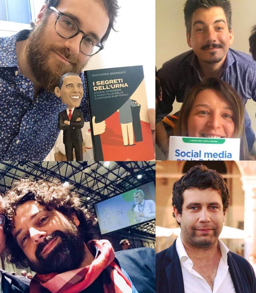 Giovanni, Dodo, Martina, Matteo e Massimo