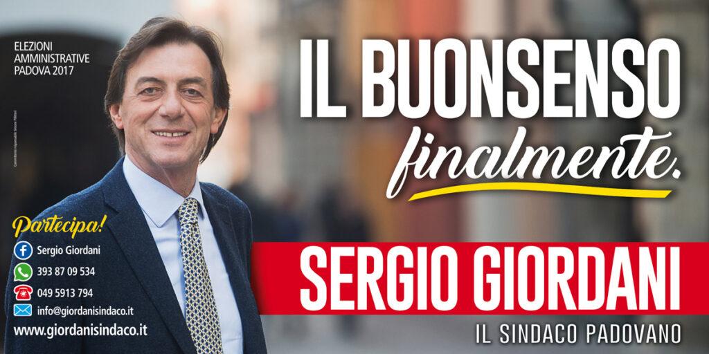 Il primo poster 6x3 della campagna con il claim « Il buonsenso finalmente »