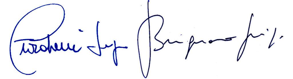 La particolare assonanza tra le firme di Giordani e Brugnaro