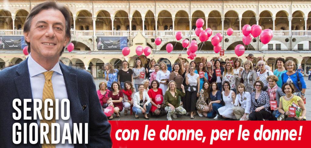 Giordani per le donne di Padova (non quelle cantate da Francesco Baccini)