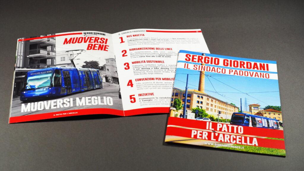 La brochure dedicata alle soluzioni per il quartiere Arcella