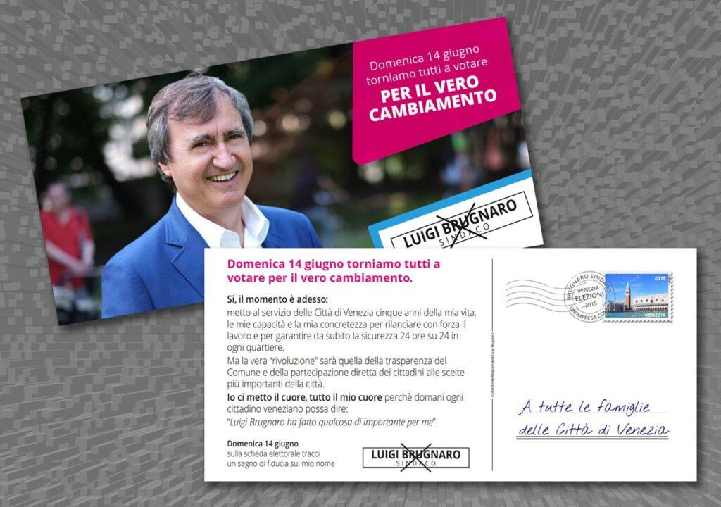 La cartolina di invito al voto