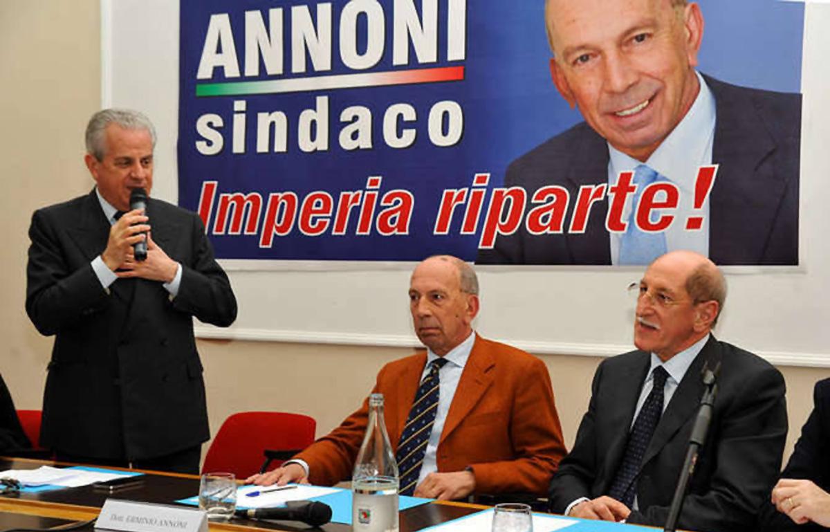 Scajola (a sinistra) e Annoni (al centro) candidato del centrodestra