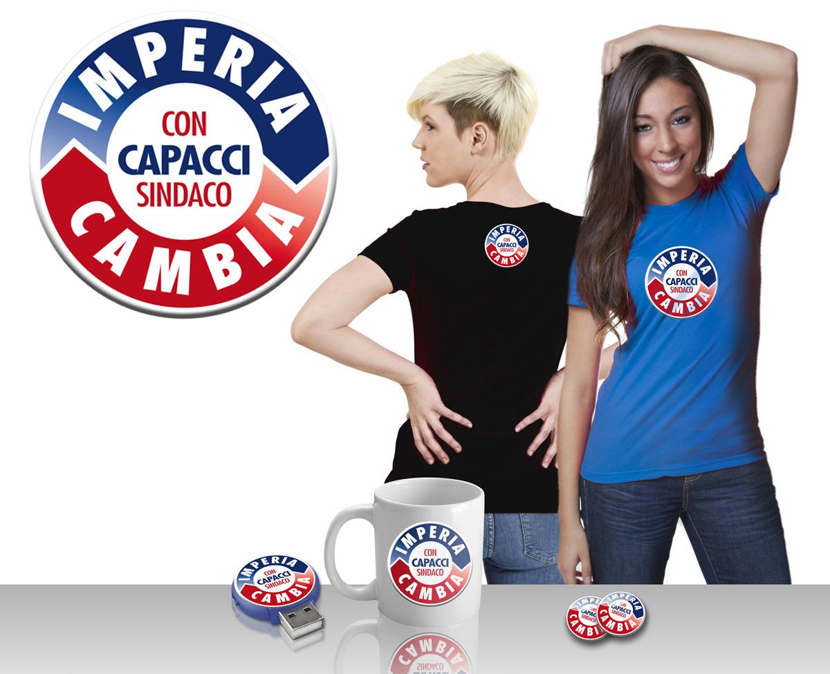 """Il logo della lista civica """"Imperia Cambia"""""""