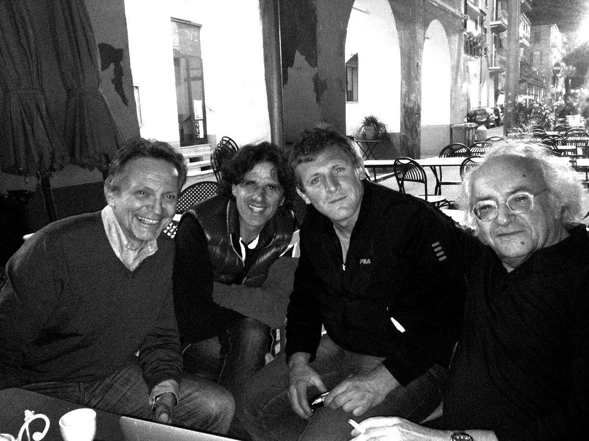 Le notti di Oneglia a Calata Cuneo con gli amici di campagna