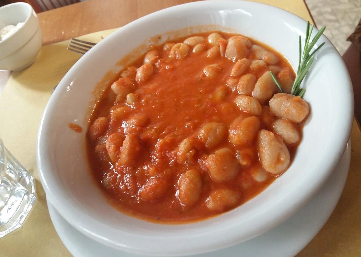 Pisarei e fasò, piatto tipico piacentino (Enoteca da Renato)