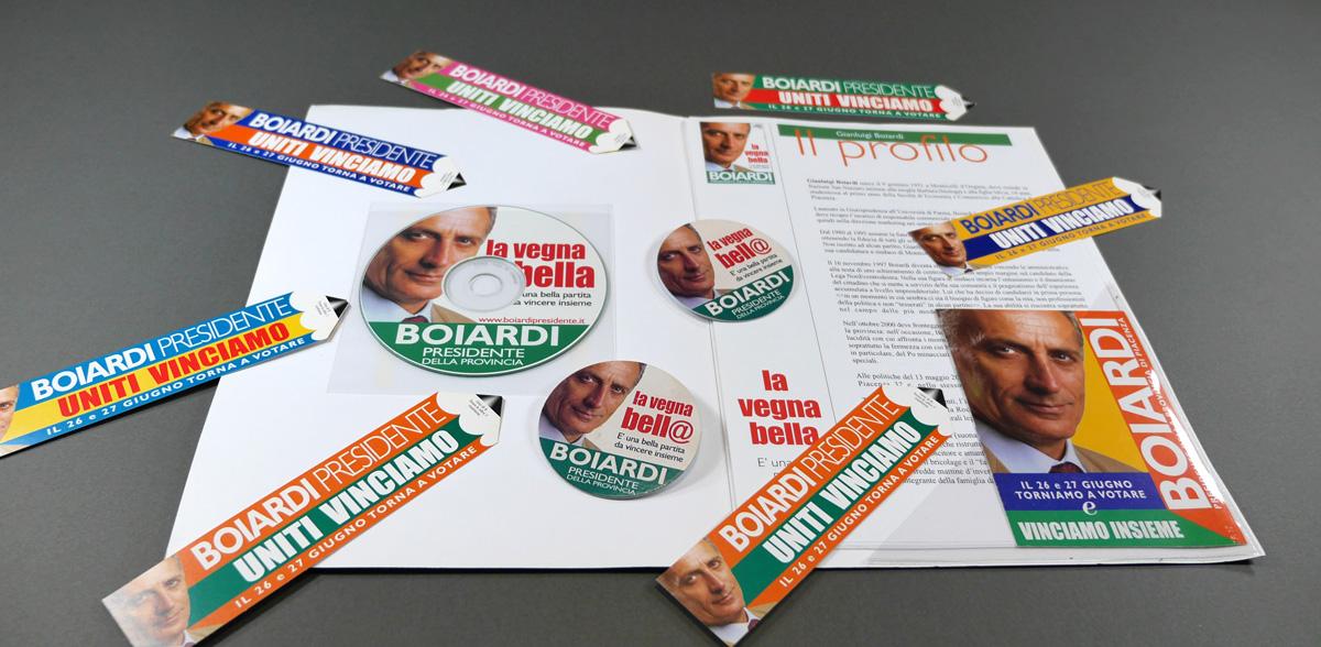 La cartella stampa per i giornalisti