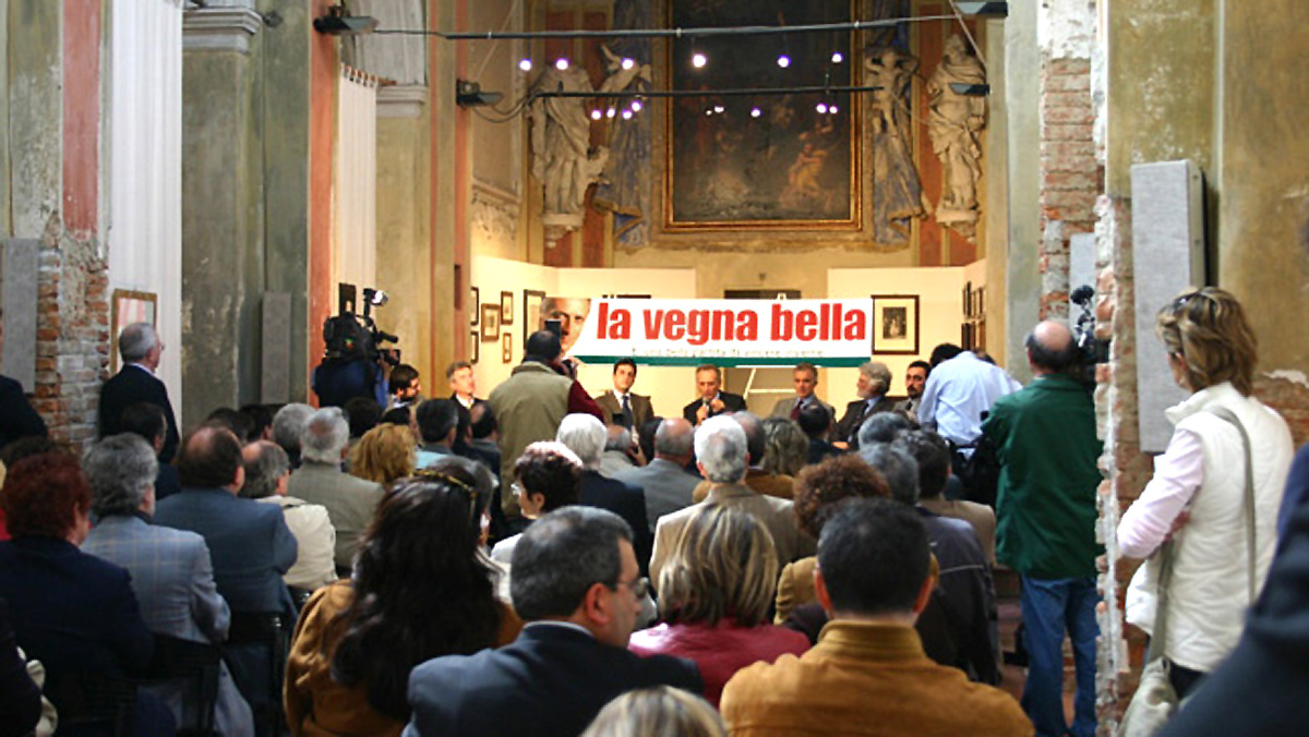 La conferenza stampa di apertura