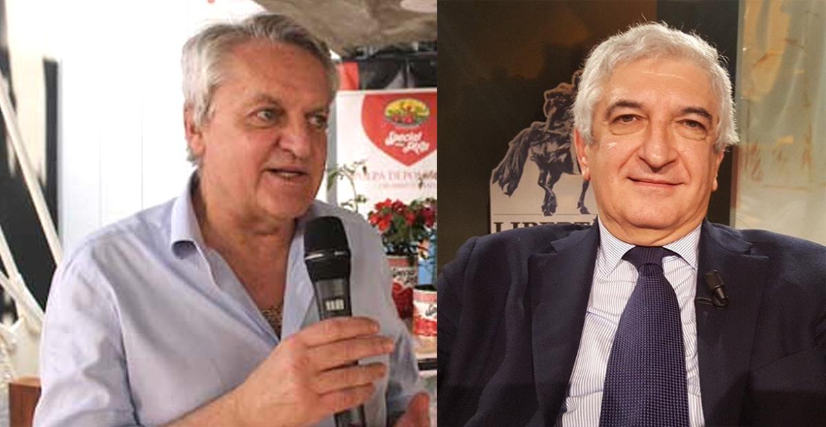 Dario Squeri (a sinistra) e Tommaso Foti