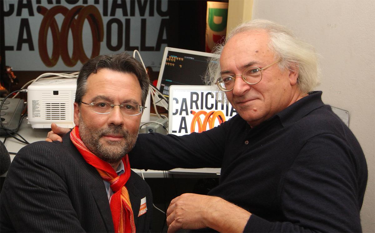 Il grande Stefano Borotti con me