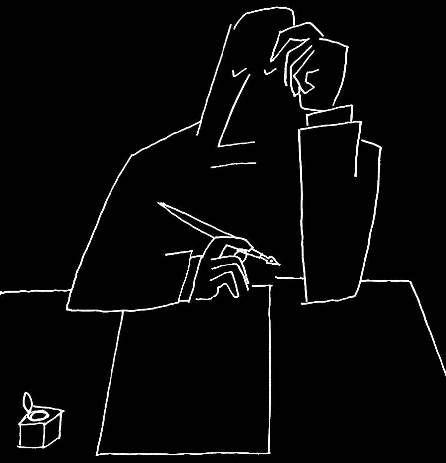 Una meraviglia di Saul Steinberg